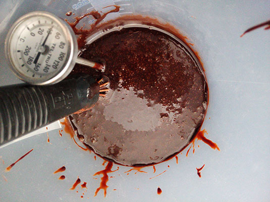 Glans-choco-koelen Glans Chocolade finish