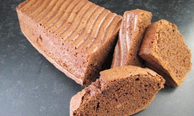 Cake met echte chocolade